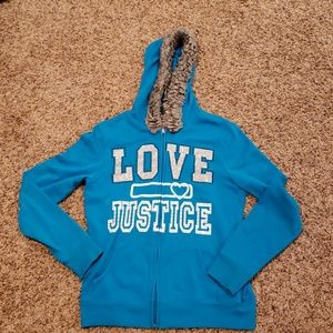 Justice Jacket size youth 16